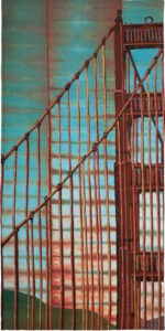 Golden Gate Bridge (Nienke Smit, 75 x 150 cm)