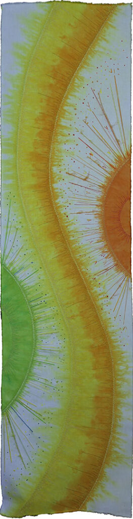 A changeable year- Spring (Loes Klein Elhorst, 37 x 150 cm)