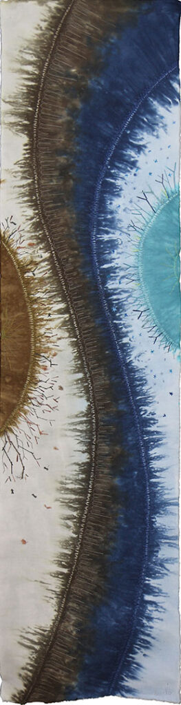 A changeable year- Winter (Loes Klein Elhorst, 37 x 150 cm)